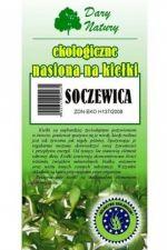 Nasiona na kiełki BIO - soczewica 50 g