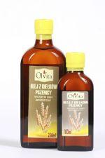 Olej z kiełków pszenicy tłoczony na zimno nieoczyszczony 100 ml
