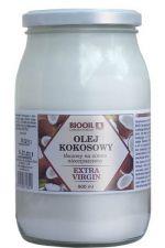 Olej kokosowy extra virgin tłoczony na zimno nieoczyszczony 900 ml
