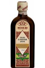 Olej z pestek dyni tłoczony tradycyjnie 250 ml