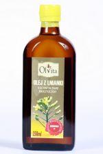 Olej z lnianki (rydzowy) tłoczony na zimno nieoczyszczony 250 ml