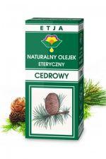 Olejek cedrowy 10 ml - naturalny olejek eteryczny