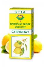 Olejek cytrynowy 10 ml - naturalny olejek eteryczny
