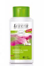 Lavera Szampon do włosów suchych i zniszczonych z wyciągiem z bio-róży 200 ml