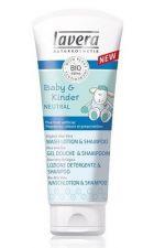 Lavera BABY&KINDER Neutral Płyn pod prysznic i do włosów dla dzieci i niemowląt 200 ml