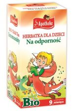 Apotheke herbatka dla dzieci na odporność Bio 20x1,5 g