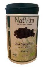 Spirulina BIO tabletki 400 mg 625 szt. (250 g)