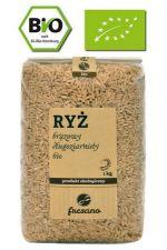 Ryż brązowy długoziarnisty BIO 1 kg