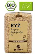 Ryż brązowy długoziarnisty BIO 500 g