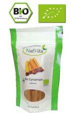 BIO cynamon cejloński (Cinnamomum verum), cynamon prawdziwy ekologiczny - 50 g całe laski