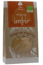 Imbir BIO (Zingiber officinale) - 60 g mielony