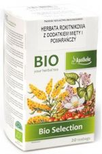 Herbata Rokitnikowa BIO z dodatkiem mięty i pomarańczy 20 x 1,8 g