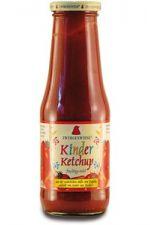 Ketchup dla dzieci BIO bezglutenowy bez dodatku cukru 500 ml