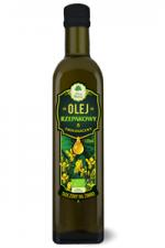 Ekologiczny olej rzepakowy virgin BIO nierafinowany 500 ml