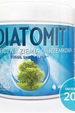 Diatomit (Ziemia Okrzemkowa) jakość spożywcza 200 g