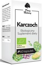 Karczoch BIO 60 kaps. (550 mg)