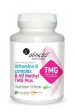 Witamina B Complex B-50 Methyl TMG Plus 100 kaps.