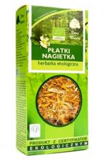 Płatki nagietka (Calendula officinalis L.) BIO herbatka 25 g