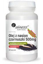 Olej z Nasion Czarnuszki 500 mg (120 kaps.)