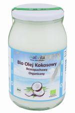 Olej kokosowy BIO bezzapachowy organiczny 900 ml