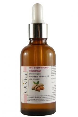 Olej kosmetyczny migdałowy tłoczony na zimno 50 ml