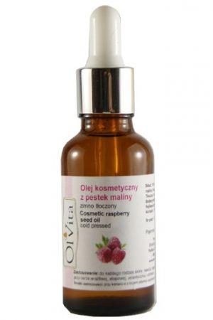 Olej kosmetyczny z pestek malin tłoczony na zimno 30 ml