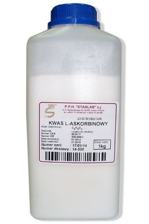 Kwas L-askorbinowy CZDA 1 kg (witamina C)