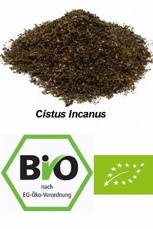 Czystek BIO (Cistus Incanus) suszony cięty herbatka - 100 g