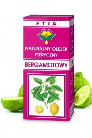 Olejek bergamotowy 10 ml - naturalny olejek eteryczny