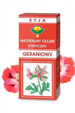 Olejek geraniowy 10 ml - naturalny olejek eteryczny