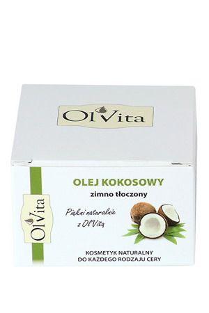 Olej kokosowy kosmetyczny nierafinowany 100 ml