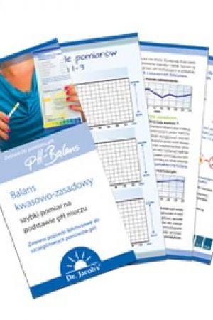 Papierki lakmusowe do badania pH moczu 30 szt.