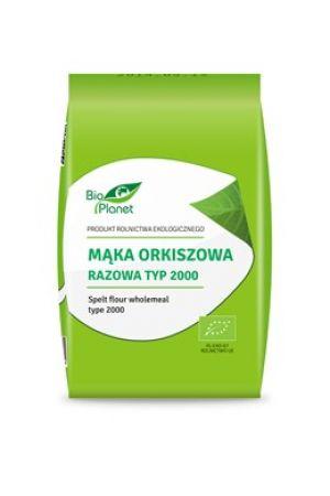 Mąka orkiszowa BIO razowa typ 2000 1 kg