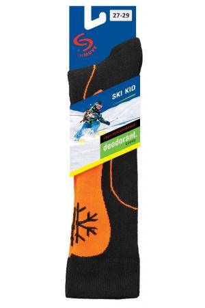 Dziecięce antyzapachowe podkolanówki narciarskie Ski Kid DeodorantŸ