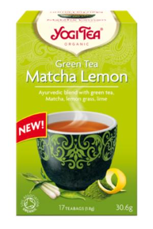 Herbatka MATCHA LEMON Zielona z Cytryną i Matchą BIO (17 x 1,8 g)