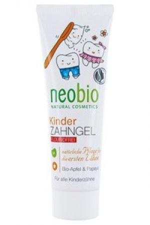 Żel do mycia zębów bez fluoru dla dzieci jabłko papaja 50 ml