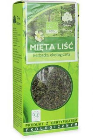 Mięta liść (Mentha piperita L.) herbatka BIO 25 g