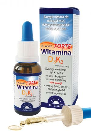 Witamina D3 + K2 FORTE krople 20 ml