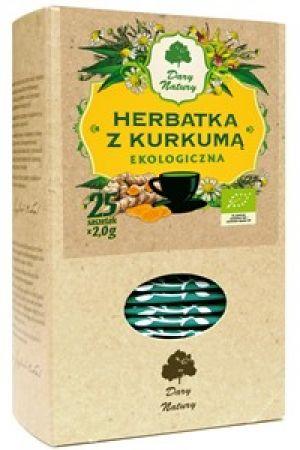 Herbatka z kurkumą BIO (25x2g)