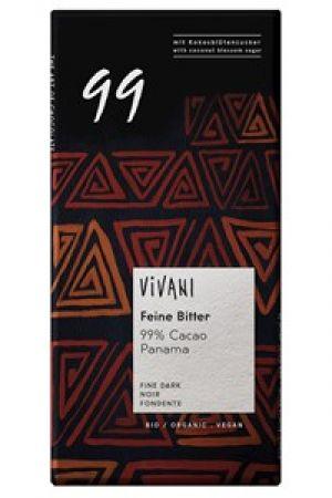 Czekolada BIO gorzka 99% kakao 80 g
