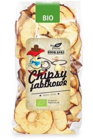 Chipsy jabłkowe polskie BIO 100 g