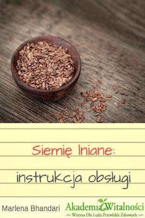 Siemię Lniane: Instrukcja Obsługi (e-book)