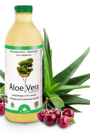AloeVera sok z aloesu suplement diety z acerolą 1000 ml