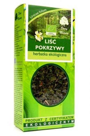 Liść pokrzywy (Urtica dioica L.) herbatka BIO - 25 g