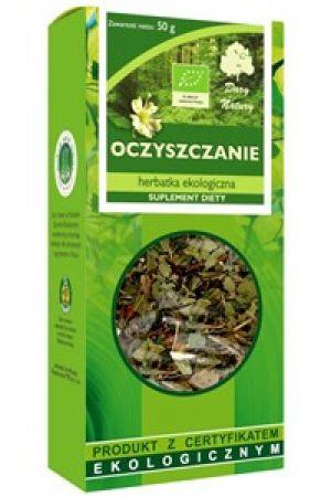 Herbatka BIO oczyszczająca - 50 g