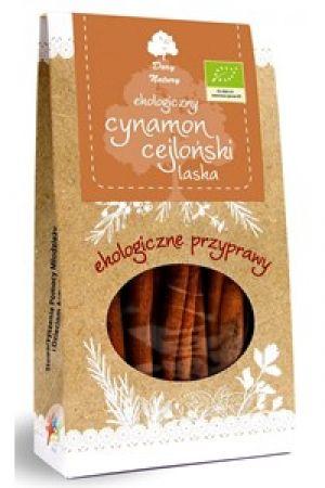 BIO cynamon cejloński (Cinnamomum verum), cynamon prawdziwy ekologiczny - 30 g całe laski