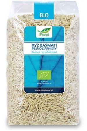 Ryż basmati brązowy (pełnoziarnisty) BIO 1 kg