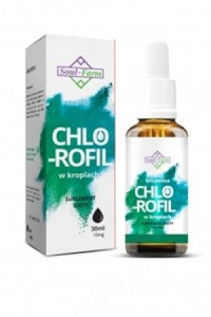 Chlorofil w kroplach 30 ml