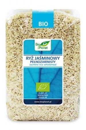 Ryż jaśminowy brązowy (pełnoziarnisty) BIO 1 kg