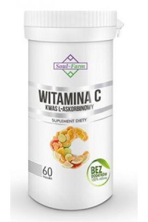 Witamina C (kwas L-askorbinowy) kapsułki 800 mg (60 kaps.)